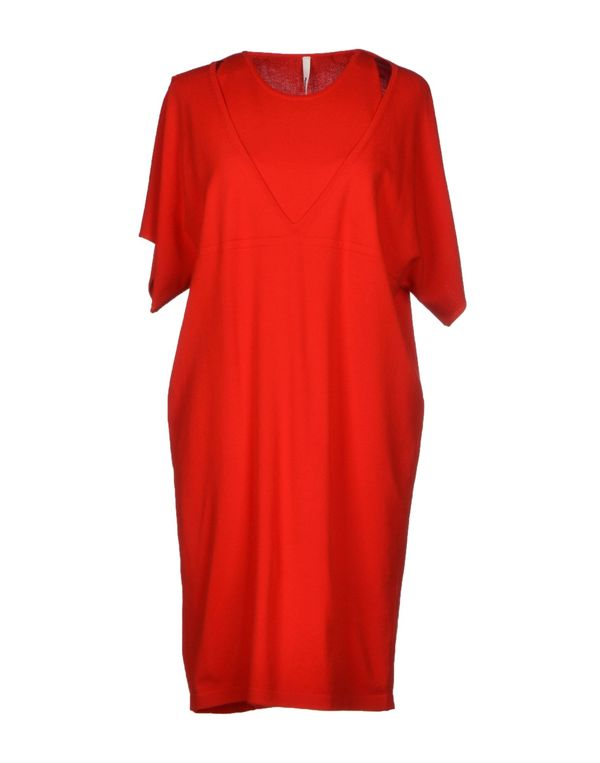 红色 PIERANTONIO GASPARI 短款连衣裙