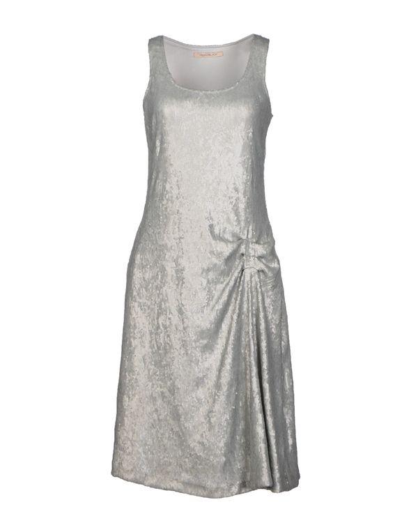 灰色 PENNYBLACK 及膝连衣裙
