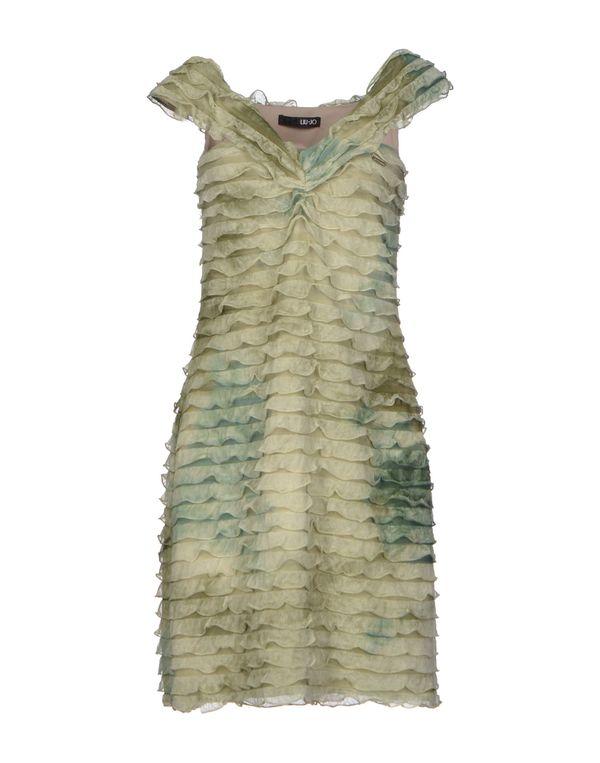 军绿色 LIU •JO 短款连衣裙