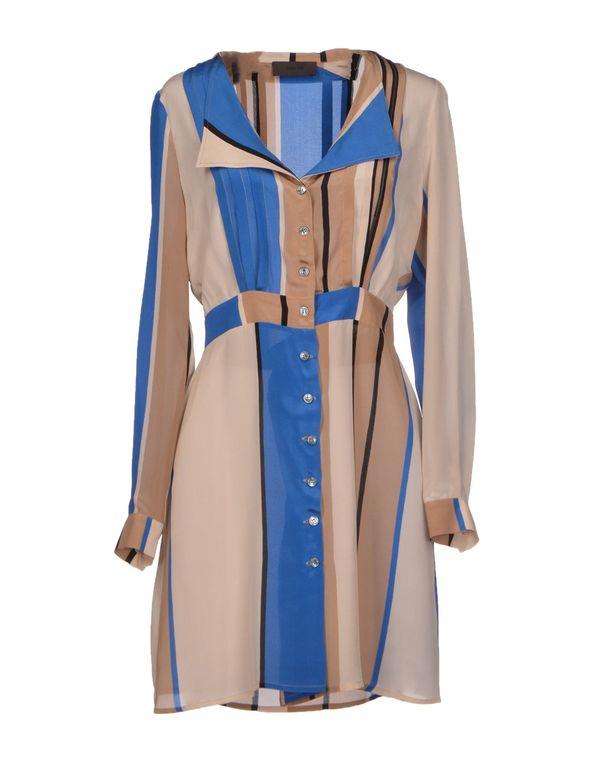 蓝色 JO NO FUI 短款连衣裙