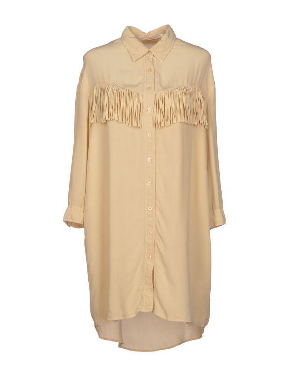 沙色 VIRGINIE CASTAWAY 短款连衣裙