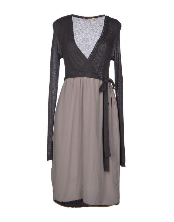 青灰色 APPARTAMENTO 50 短款连衣裙