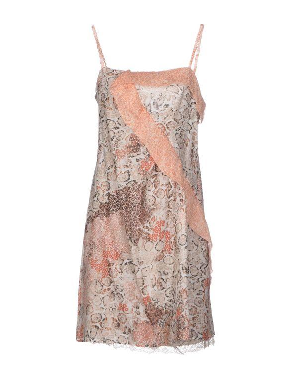 铁锈红 LIU •JO 短款连衣裙