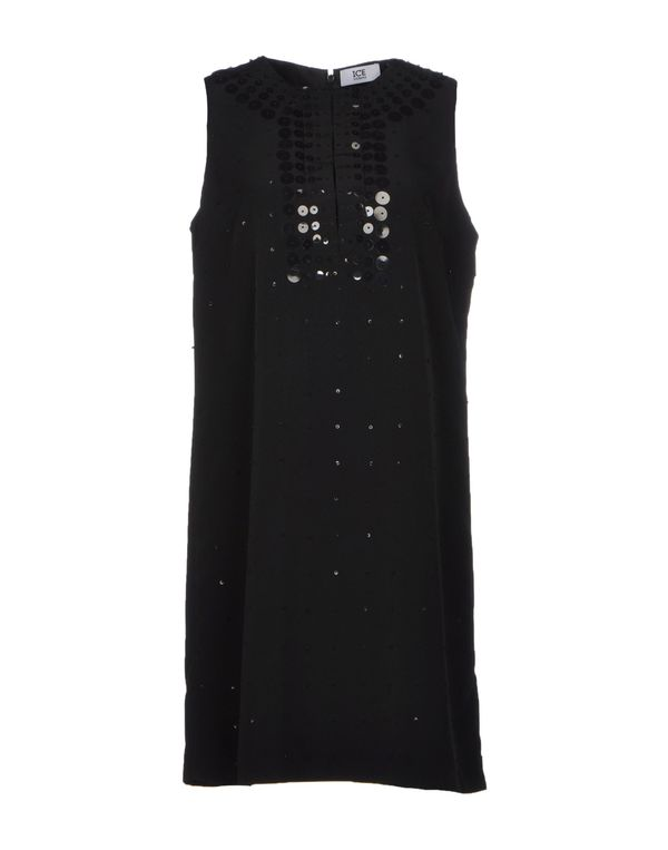 黑色 ICE ICEBERG 短款连衣裙