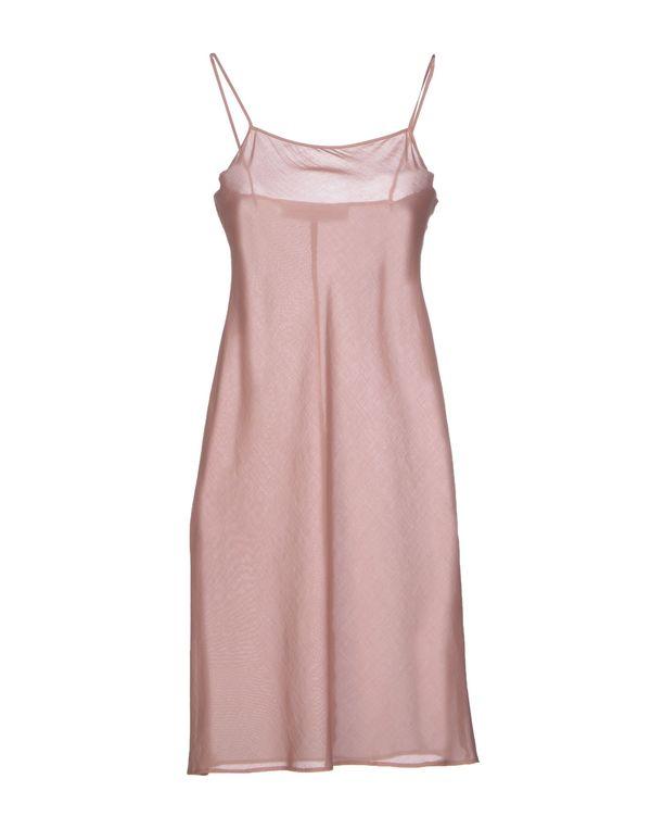 水粉红 CACHAREL 及膝连衣裙