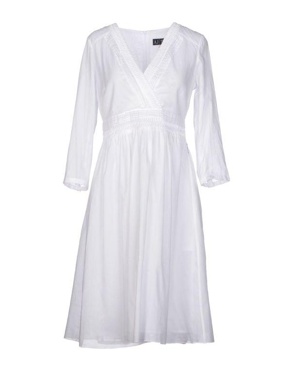 白色 ARMANI JEANS 短款连衣裙