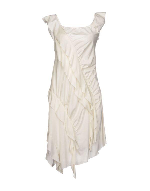 象牙白 NOLITA 短款连衣裙