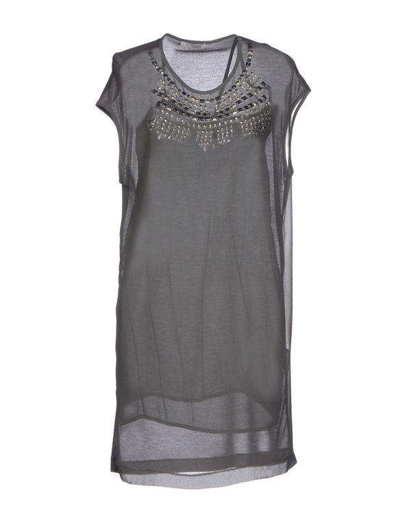 灰色 PINKO GREY 短款连衣裙