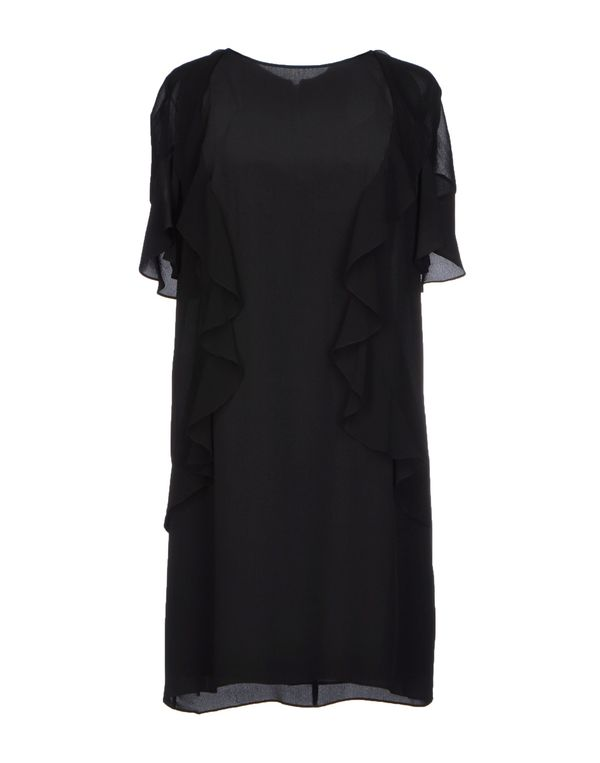 黑色 PINKO BLACK 短款连衣裙