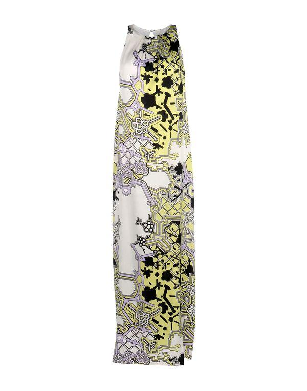 荧光绿 1 ONE 长款连衣裙