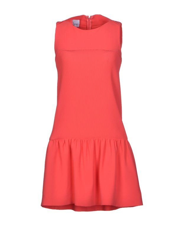 珊瑚红 PF PAOLA FRANI 短款连衣裙