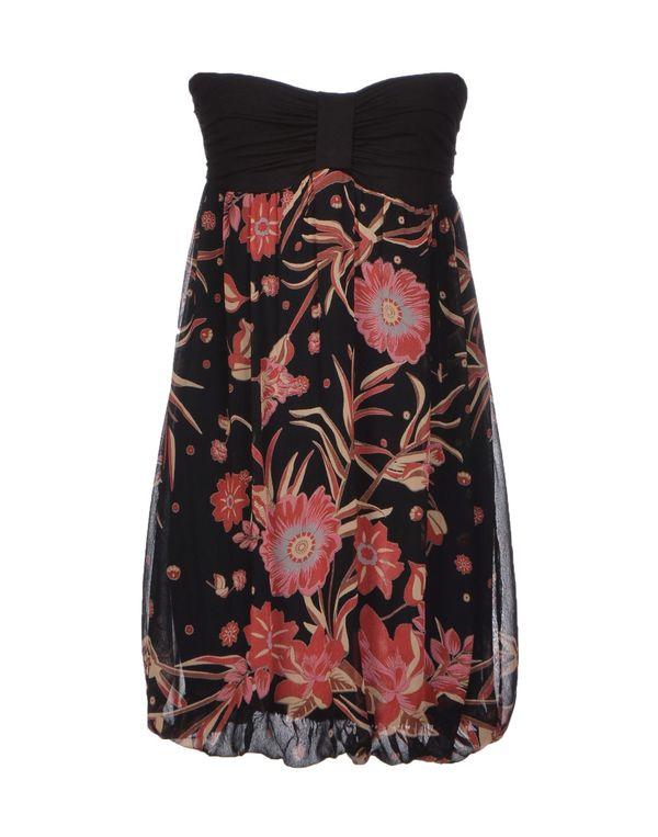 黑色 MAGAZZINI DEL SALE 短款连衣裙