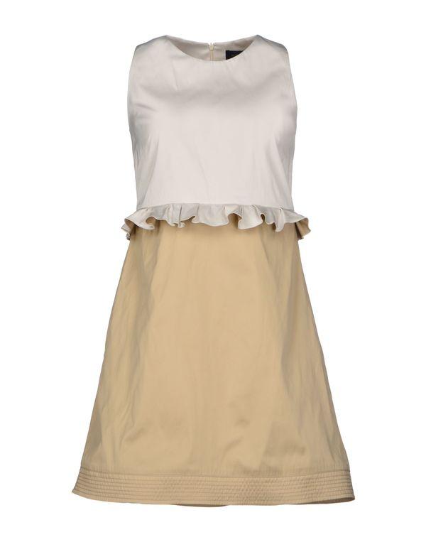 米色 PIAZZA SEMPIONE 短款连衣裙