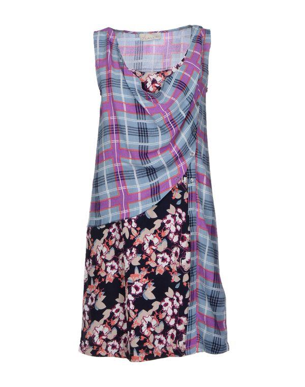 粉蓝色 ALYSI 短款连衣裙
