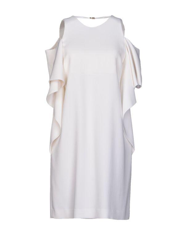白色 SPACE STYLE CONCEPT 短款连衣裙