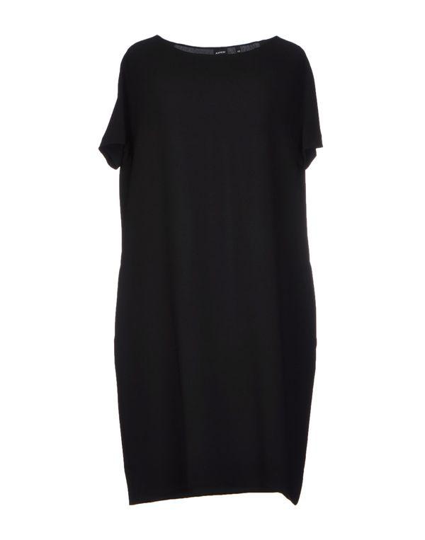 黑色 ASPESI 短款连衣裙