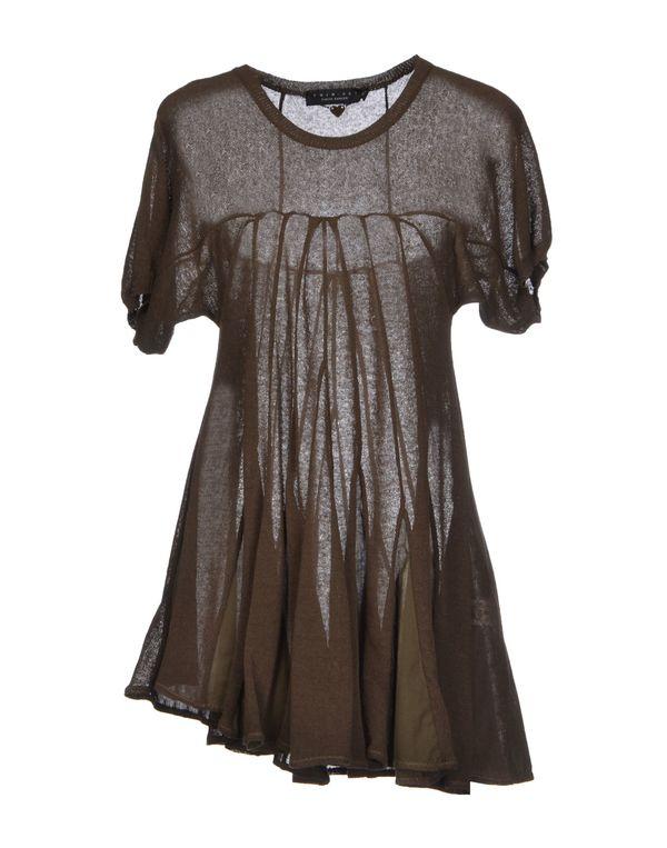 军绿色 TWIN-SET SIMONA BARBIERI 短款连衣裙