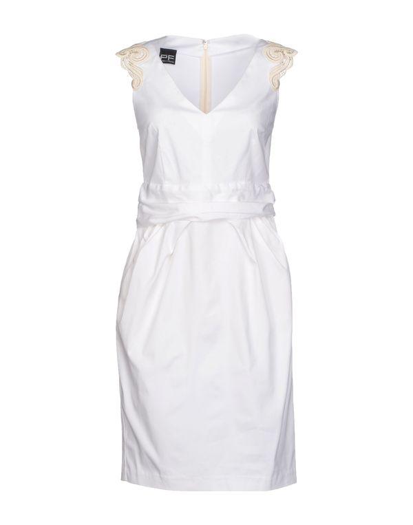 白色 PF PAOLA FRANI 短款连衣裙