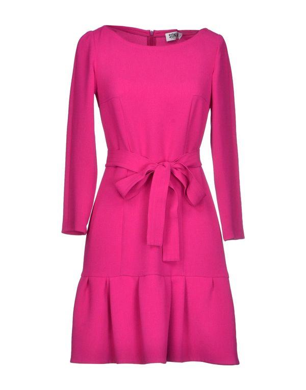石榴红 SONIA BY SONIA RYKIEL 短款连衣裙