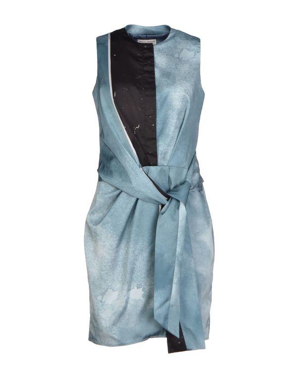 石青色 OPENING CEREMONY 短款连衣裙