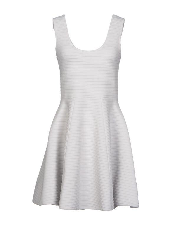 淡灰色 SONIA BY SONIA RYKIEL 短款连衣裙