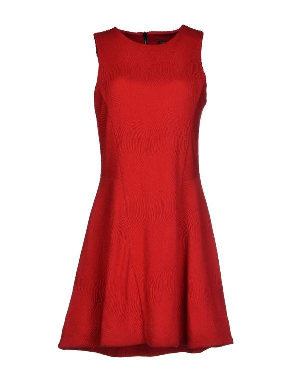 红色 RAG & BONE 短款连衣裙