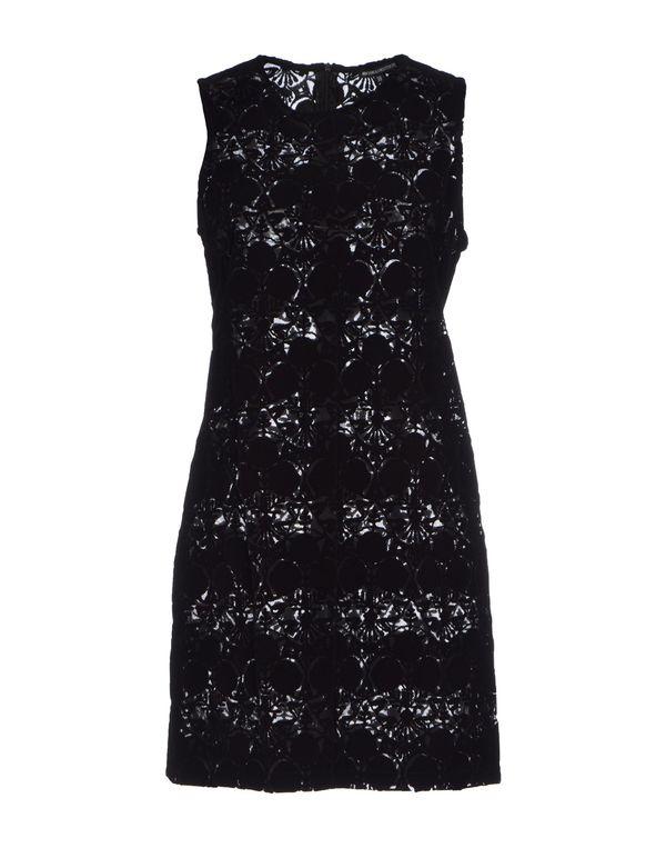 黑色 ANN DEMEULEMEESTER 短款连衣裙
