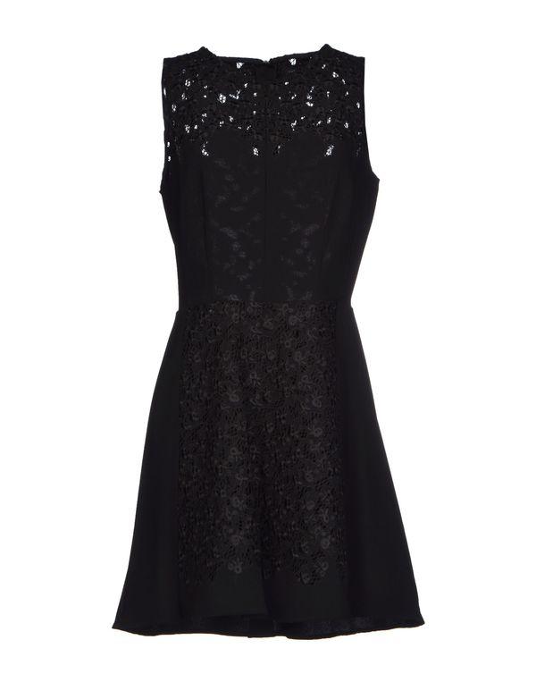 黑色 RAG & BONE 短款连衣裙