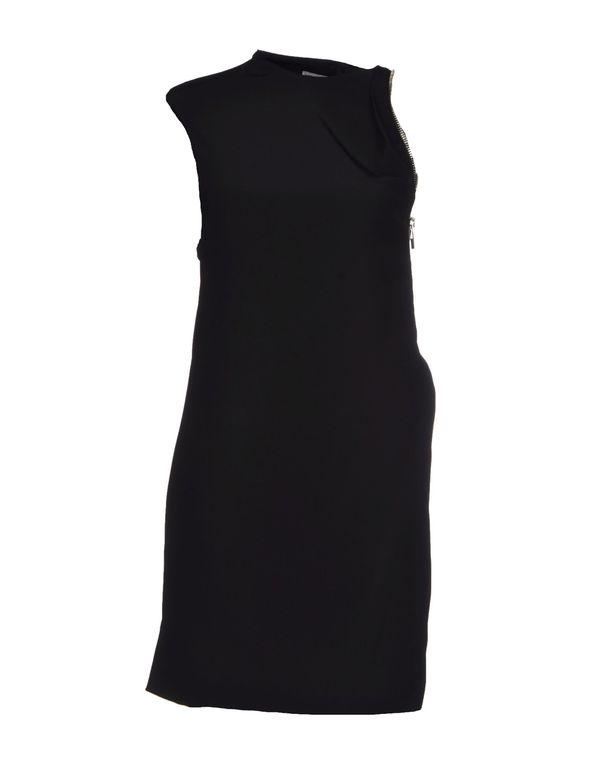 黑色 PACO RABANNE 短款连衣裙