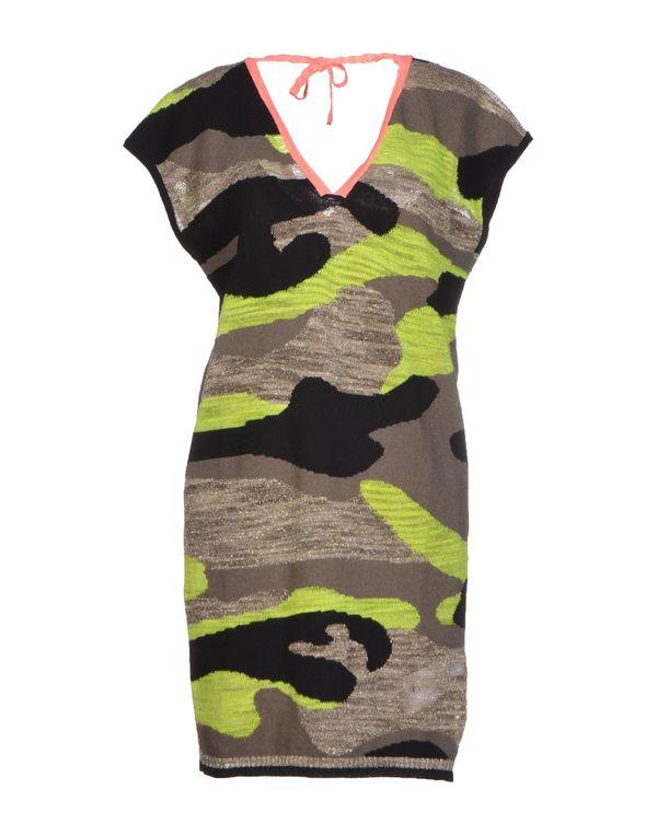 浅绿色 PIANURASTUDIO 短款连衣裙