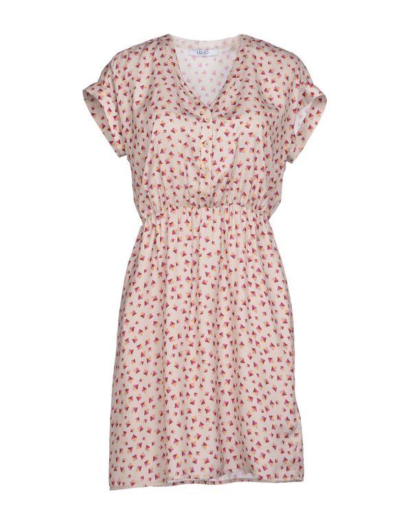 淡灰色 LIU •JO JEANS 短款连衣裙