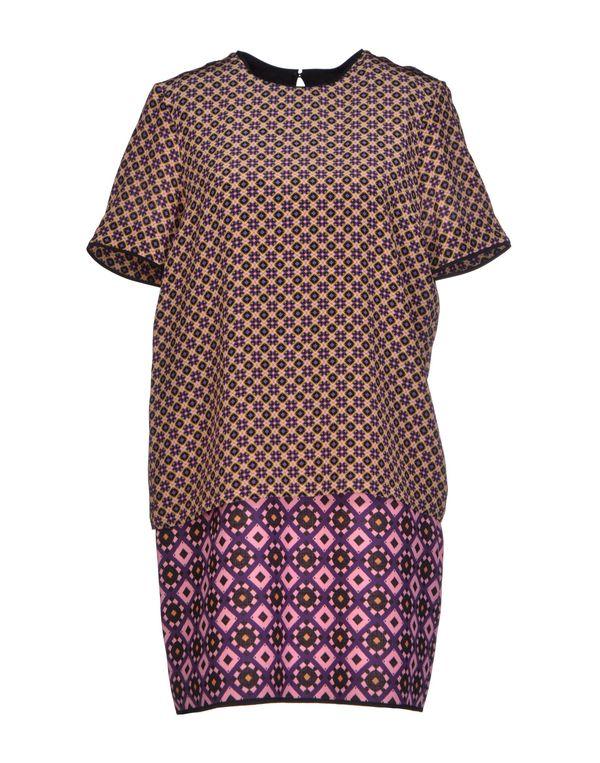 粉红色 VICTORIA, VICTORIA BECKHAM 短款连衣裙