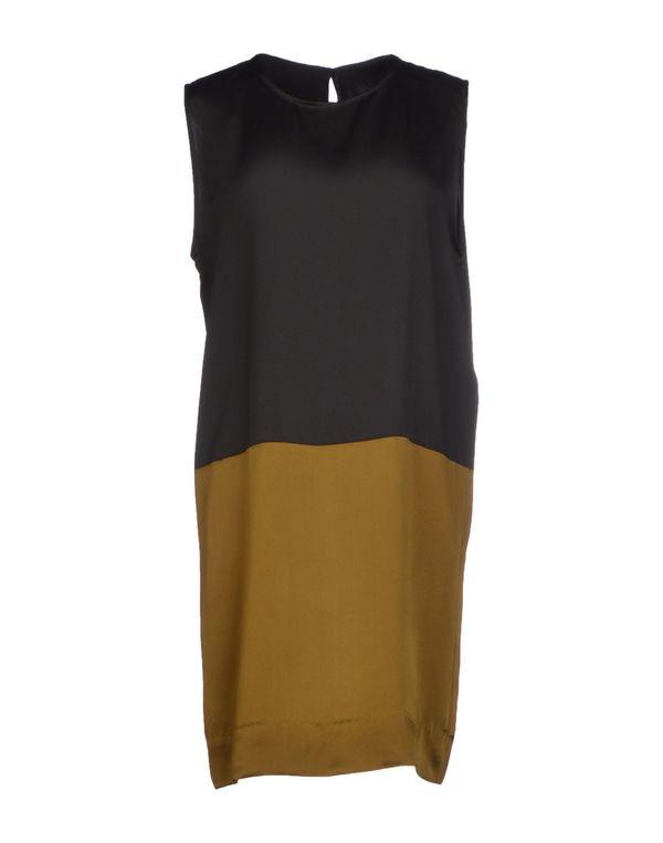 黑色 HAIDER ACKERMANN 短款连衣裙