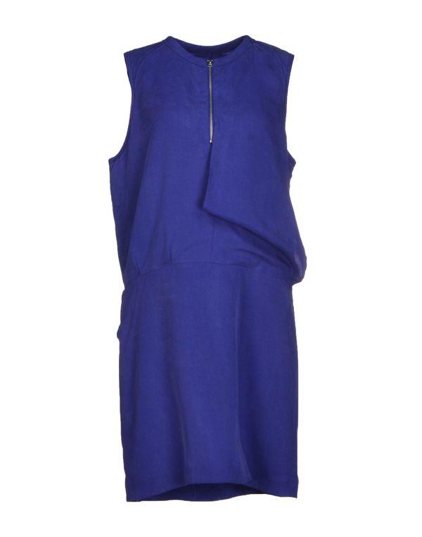 深紫色 ACNE STUDIOS 短款连衣裙