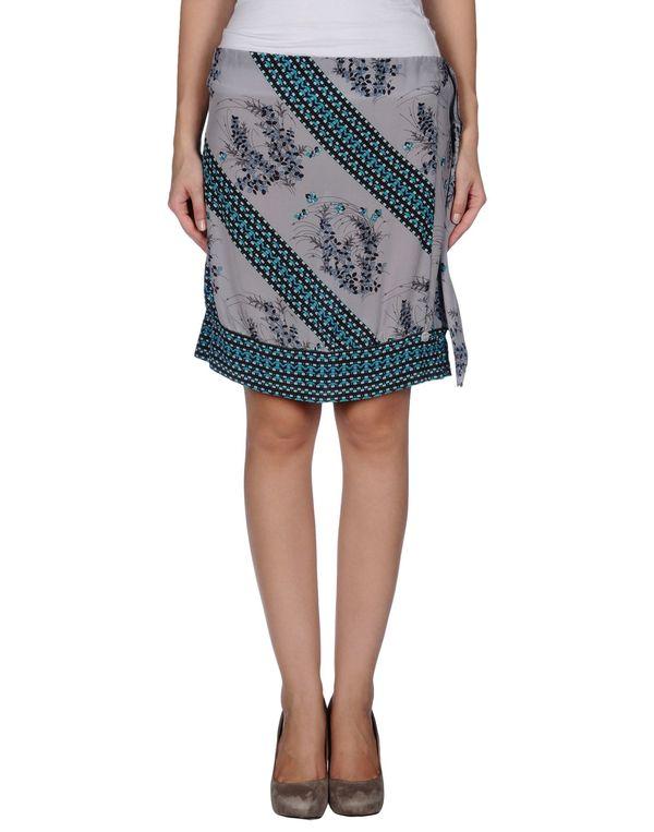 灰色 LIU •JO 及膝半裙