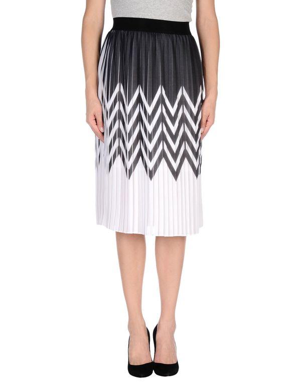 白色 PINKO BLACK 半长裙
