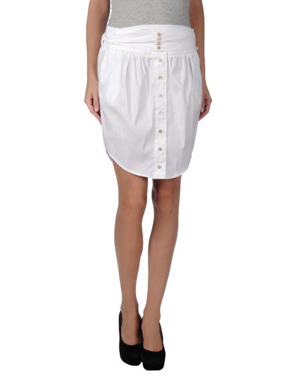 白色 PATRIZIA PEPE 超短裙