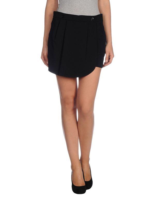 黑色 PATRIZIA PEPE 超短裙
