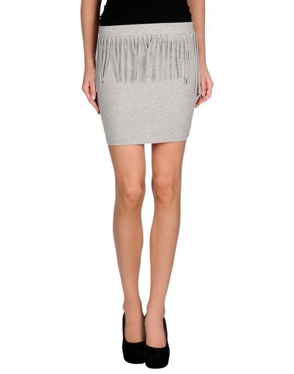淡灰色 ONLY 超短裙