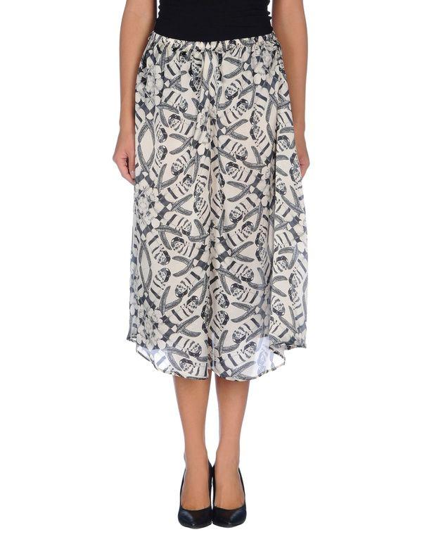 淡灰色 LANEUS 半长裙
