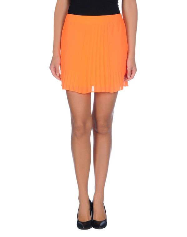 橙色 SPACE STYLE CONCEPT 超短裙