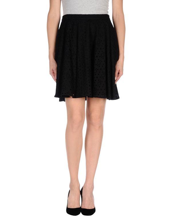 黑色 LOVE MOSCHINO 及膝半裙