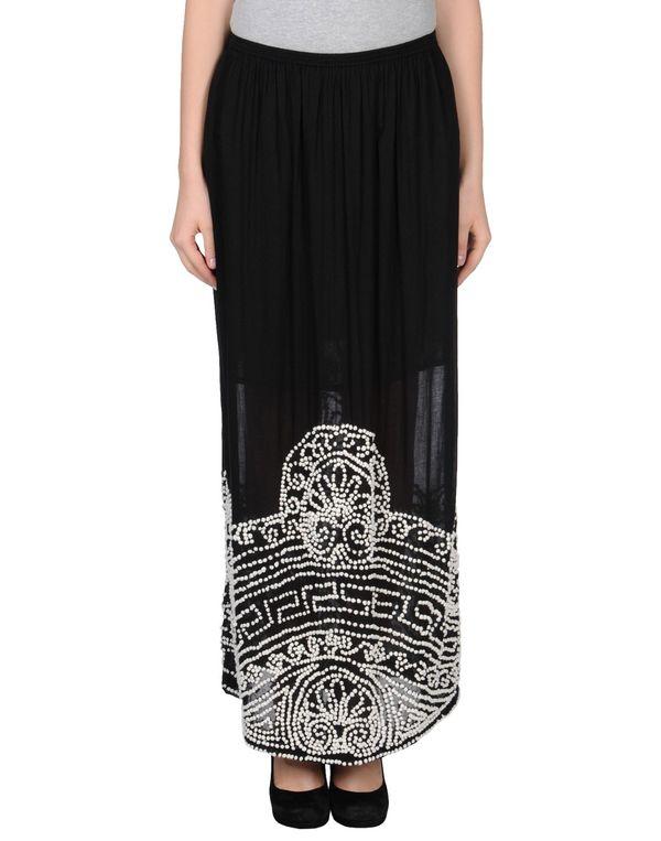 黑色 GAT RIMON 长裙
