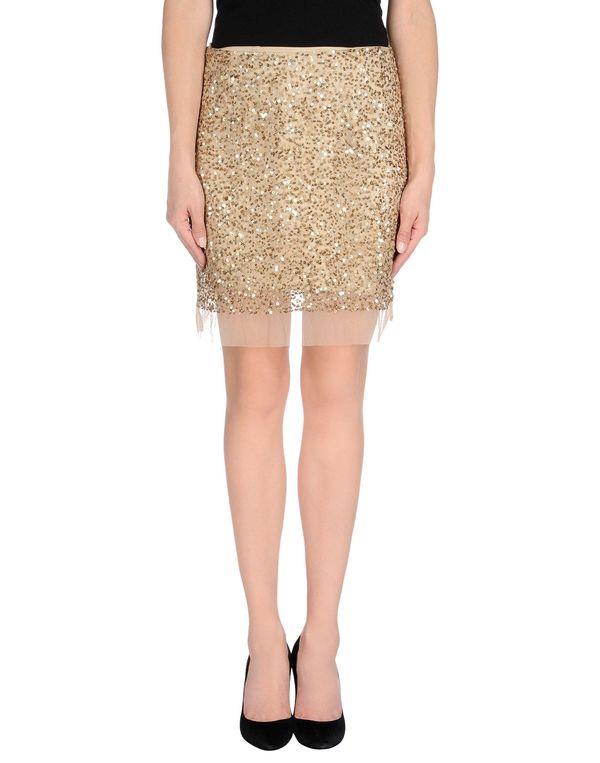 金色 GOLD CASE 及膝半裙