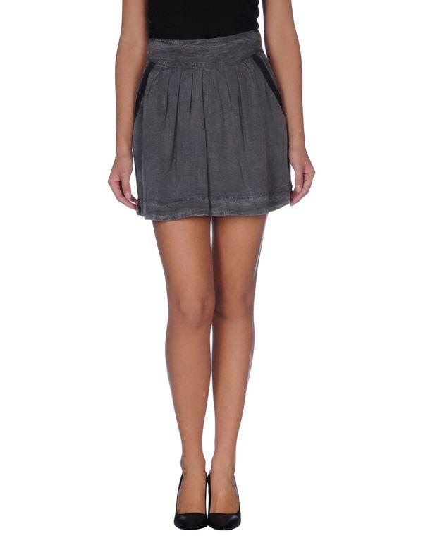 灰色 WOOLRICH 超短裙