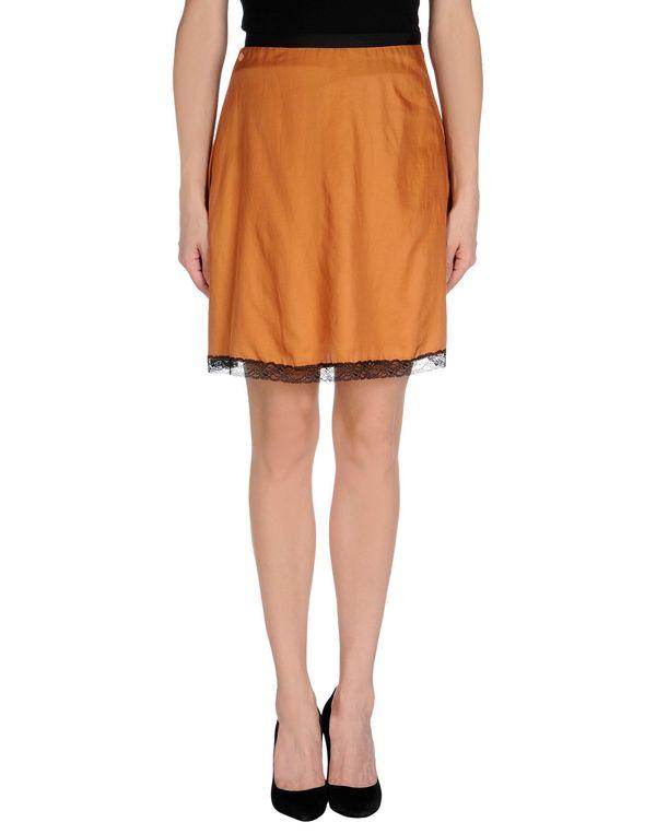 棕色 NOLITA 及膝半裙