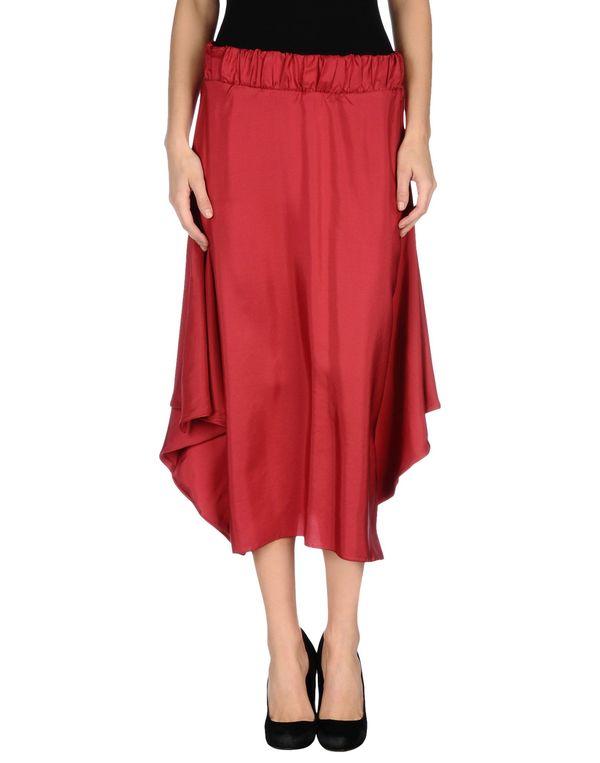 砖红 LIVIANA CONTI 半长裙