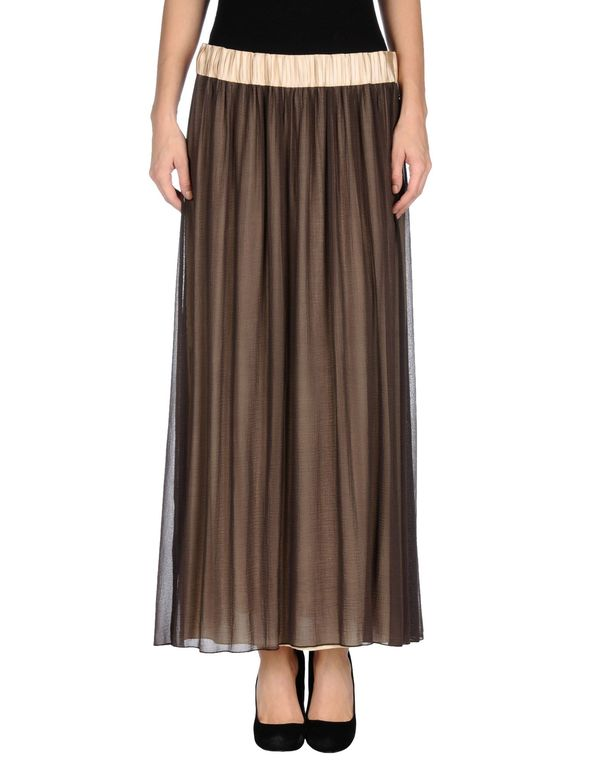 深棕色 TUANUA 长裙