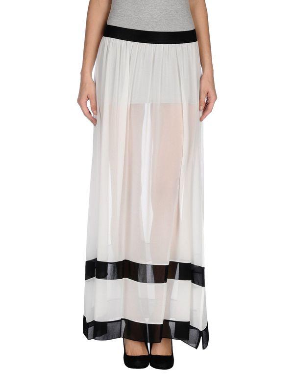 白色 TWIN-SET SIMONA BARBIERI 长裙