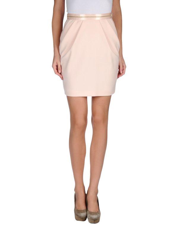 粉红色 PINKO 及膝半裙